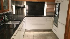 Küche nach Folierung