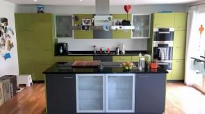 Das Endresultat überzeugt und lässt die Küche in neuem Glanz erstrahlen.