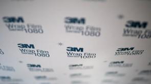 Wir verwenden unter anderem Qualitätsfolien der Firma 3M.